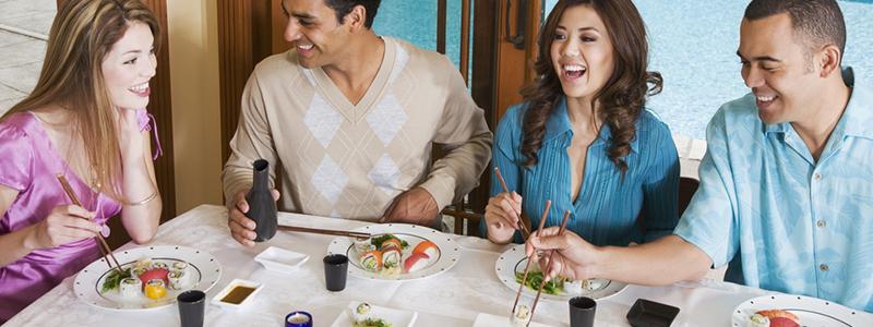 日本の寿司『SUSHI』をお土産にしてみては?