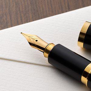 一生ものになる! 万年筆の特徴についてご紹介!