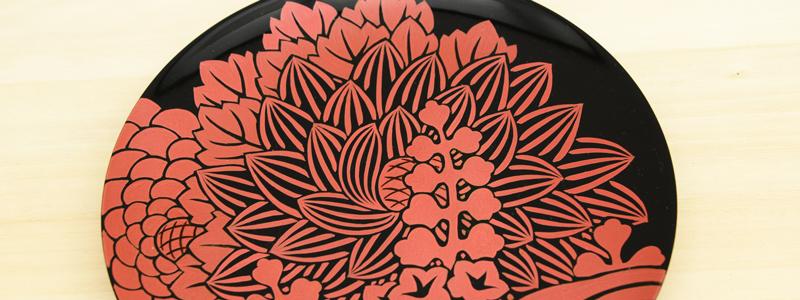 多種多様な会津塗の装飾技法