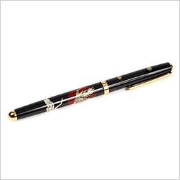 蒔絵ボールペン(ハイグレード)-日の出鶴