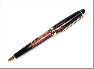 蒔絵ボールペン サイズ:133x直径136mm