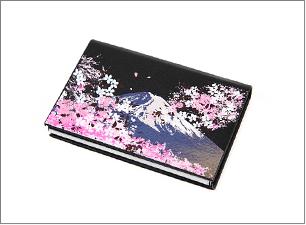 蒔絵カードケース<br>サイズ:60x95x15mm