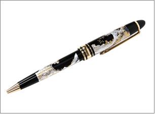 蒔絵ボールペン サイズ:15x13x133mm