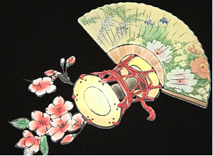 歌舞伎シャツのウラ柄
