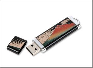 蒔絵USBメモリー(4GB)サイズ:75×25×6mm